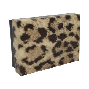"""Leopard Patterned Jewelry Boxes, 3"""" x 2"""" x 1"""""""