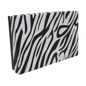 "Zebra Patterned Jewelry Boxes, 5"" x 3"" x 1"""