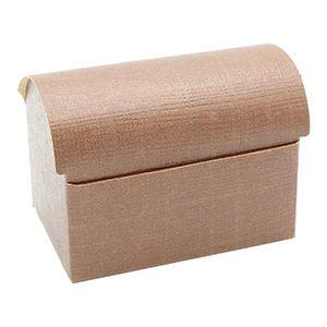 Tresure Chest, Chocolate Linen Gift Box