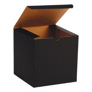 "Black Grove, Kraft Tuckit Gift Boxes, 6"" x 6"" x 6"""