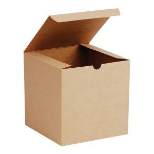 "Oatmeal, Kraft Tuckit Gift Boxes, 6"" x 6"" x 6"""