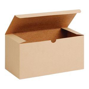 "Oatmeal, Kraft Tuckit Gift Boxes, 9"" x 4"" x 4"""