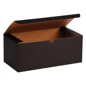 "Black Grove, Kraft Tuckit Gift Boxes, 10"" x 5"" x 4"""