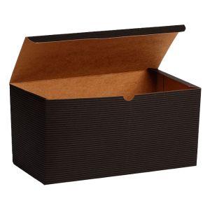 "Black Grove, Kraft Tuckit Gift Boxes, 12"" x 6"" x 6"""