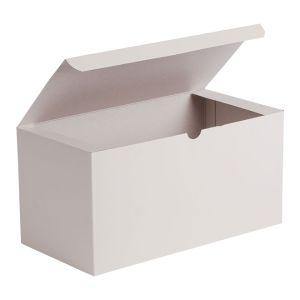 """White Folding Gift Boxes, 12"""" x 6"""" x 6"""""""