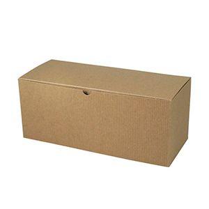 "Kraft Folding Gift Boxes, 12"" x 6"" x 6"""