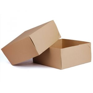 "Kraft 2 Piece Gift Boxes, 12"" x 12"" x 5.5"""