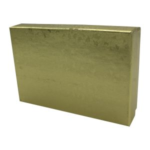 """Gold Foil Jewelry Boxes, 3"""" x 2"""" x 1"""""""