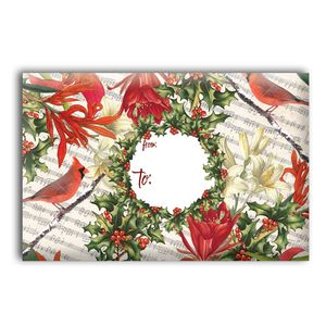 """Mailing Boxes, Small Cardinal & Holly, 9.5"""" x 6.5"""" x 4"""""""