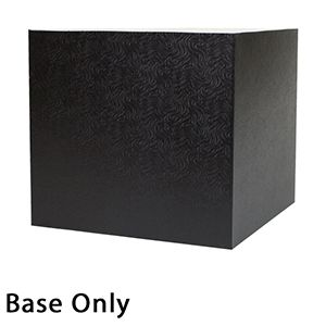 "10"" x 10"" x 9"", Black Base, Hi Wall 2 Piece Gift Box"
