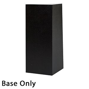 "4"" x 4"" x 9"", Black Base, Hi Wall 2 Piece Gift Box"