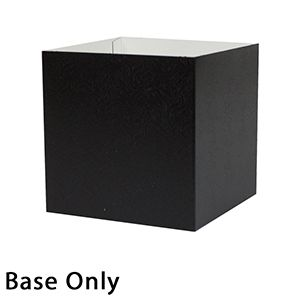 "6"" x 6"" x 6"", Black Base, Hi Wall 2 Piece Gift Box"