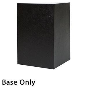 "6"" x 6"" x 9"", Black Base, Hi Wall 2 Piece Gift Box"