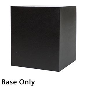 "8"" x 8"" x 9"", Black Base, Hi Wall 2 Piece Gift Box"