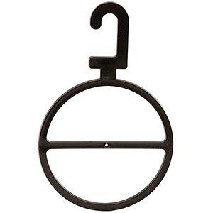 Scarf Ring Oversized Hanger Black