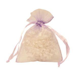 "Flat Organza Bags, Lavender, 3"" x 4"""