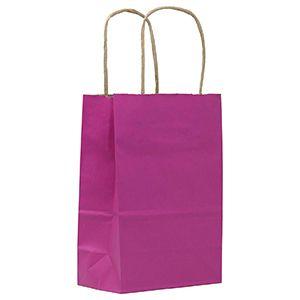 "Azalea, Small Paper Shopping Bags, 5-1/2"" x 3-1/4"" x 8-3/8"" (Gem)"
