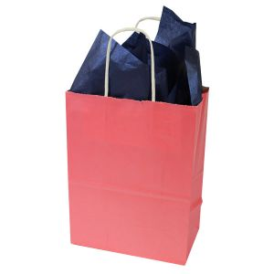 Island Pink, Medium Ice Collection Paper Shoppers