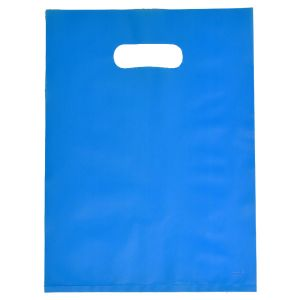 """Ocean Blue, Frosted Merchandise Bags, 9"""" x 12"""""""