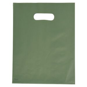 """Sage, Frosted Merchandise Bags, 9"""" x 12"""""""
