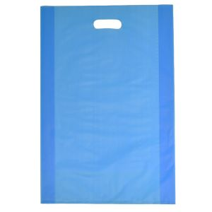 """Ocean Blue, Frosted Merchandise Bags, 14"""" x 3"""" x 21"""""""