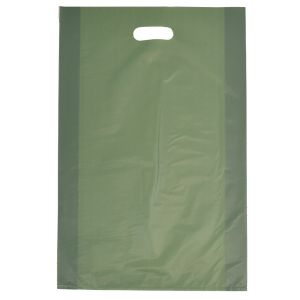 """Sage, Frosted Merchandise Bags, 14"""" x 3"""" x 21"""""""