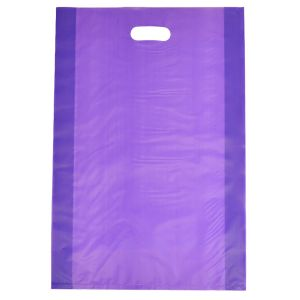 """Grape, Frosted Merchandise Bags, 14"""" x 3"""" x 21"""""""