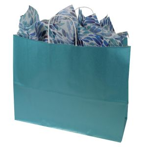 Celestial Blue, Large Ice Collection Paper Shoppers