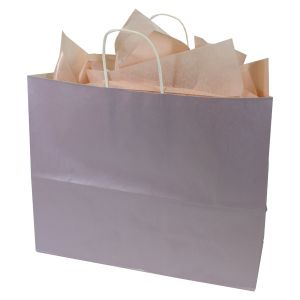 Lavender, Large Ice Collection Paper Shoppers