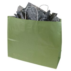 Sage, Large Ice Collection Paper Shoppers