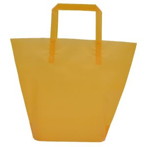 Golden Rod, Medium Frosted Trapezoid Shaped Bags