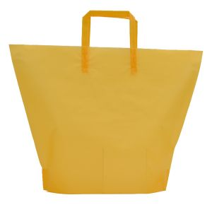 Golden Rod, Large Frosted Trapezoid Shaped Bags