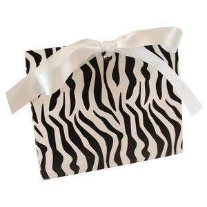 "Zebra Purse Totes, 4.5"" x 2"" x 3.75"""