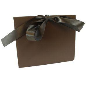 "Chocolate Purse Totes, 4.5"" x 2"" x 3.75"""