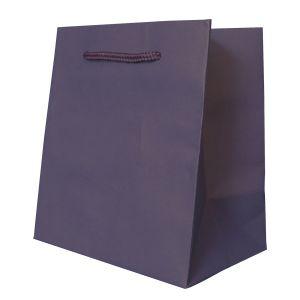 "Dark Purple, Tinted Paper EuroTotes, 5.5"" x 3.5"" x 6"""