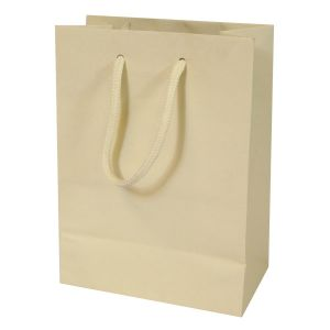 """Ivory, Tinted Paper EuroTotes, 6.25"""" x 3.5"""" x 8.5"""""""
