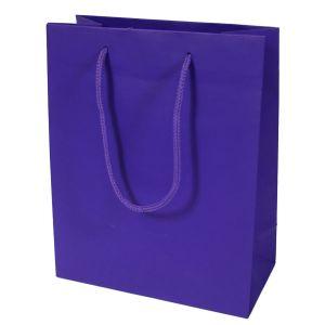 "Purple, Tinted Paper EuroTotes, 8"" x 4"" x 10"""