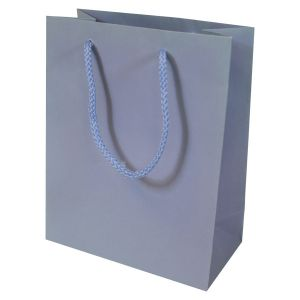 """Periwinkle, Tinted Paper EuroTotes, 8"""" x 4"""" x 10"""""""