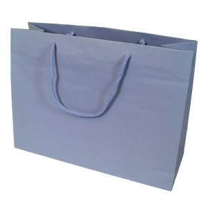 """Periwinkle, Tinted Paper EuroTotes, 16"""" x 6"""" x 12"""""""