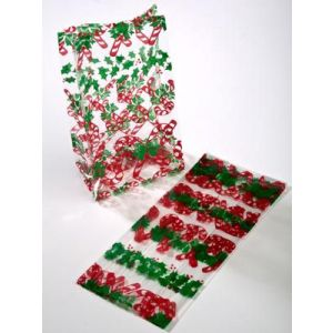 Candy Canes, Printed Polypropylene bags
