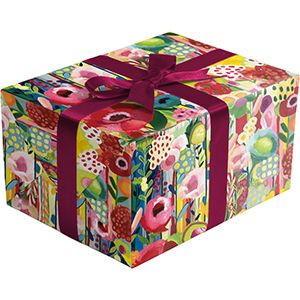 Floral Collage, Everyday Gift Wrap