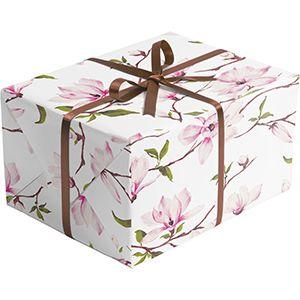Floral Gift Wrap, Magnolia