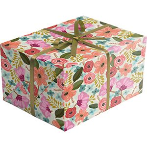 Gypsy Floral, Everyday Gift Wrap