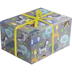Baby Gift Wrap, Zoo