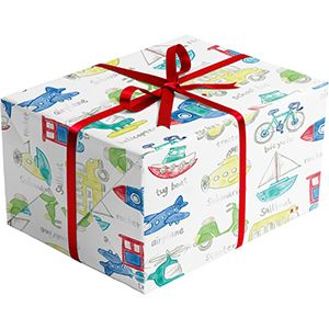 Trains, Planes… , Everyday Gift Wrap