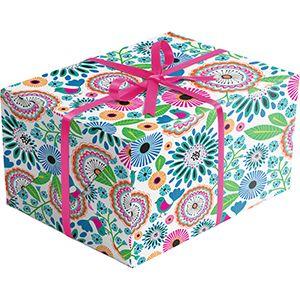 Floral Gift Wrap, Pretty Petunia