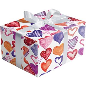 Valentine Gift Wrap, Lovely Lovely