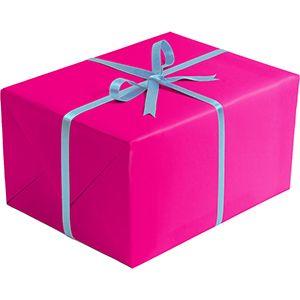 Matte Solid Gift Wrap, Magenta