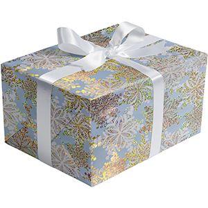 Sparkle Snow, Snowflake Gift Wrap