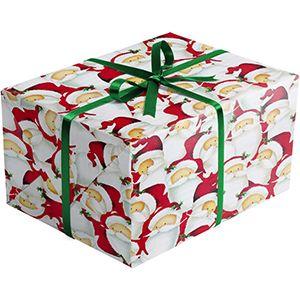 Santa, Santa Gift Wrap